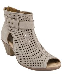 Earth - Intrepid Wide Width Leather Bootie - Lyst