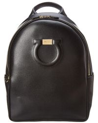 Ferragamo - City Leather Backpack - Lyst