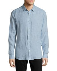 Theory - Zack Ps. Instrumental Shirt - Lyst