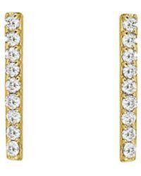 Ariana Rabbani - 14k Diamond Bar Drop Earrings - Lyst