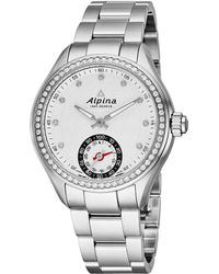 Alpina - Smartwatch Diamond Watch - Lyst