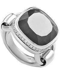 Poiray - 18k 10.26 Ct. Tw. Diamond & Agate Ring - Lyst