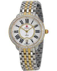 Michele - Women's Serein 16 Diamond Watch - Lyst
