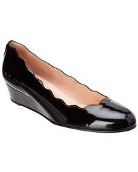 French Sole - Dickens Leather Wedge - Lyst