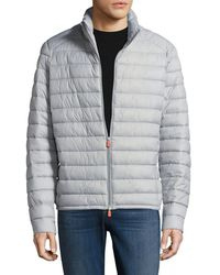 Save The Duck - Non Hooded Puffer Jacket - Lyst