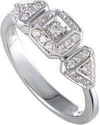 Damiani - 18k 0.20 Ct. Tw. Diamond Ring - Lyst
