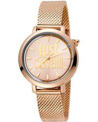 Just Cavalli - Logo Watch - Lyst