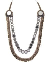 Deepa Gurnani - Tassel Statement Necklace - Lyst