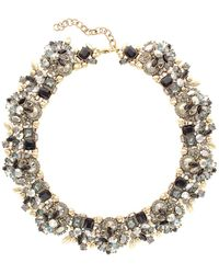 Sparkling Sage - 14k Plated Crystal & Resin Necklace - Lyst