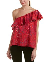 French Connection - Frances Drape Top - Lyst
