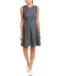 Three Dots - Pleated A-line Dress - Lyst