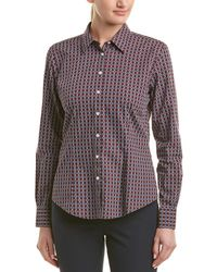 Brooks Brothers - 1818 Fitted Woven Shirt - Lyst