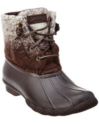 Sperry Top-Sider - Saltwater Wool Boot - Lyst