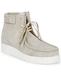 Calvin Klein - Leather Chukka Boot - Lyst