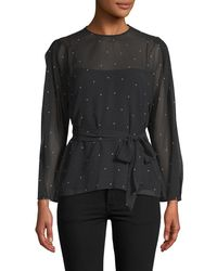 Camilla & Marc - Scarlett Dotted Blouse - Lyst