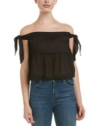BCBGMAXAZRIA - Off-the-shoulder Top - Lyst