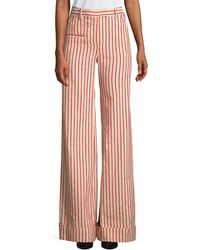 Rosie Assoulin - Stripe Linen And Pant - Lyst
