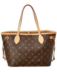 Louis Vuitton Monogram Canvas Neverfull Pm - Brown
