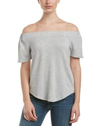 Olive & Oak - Cold-shoulder Top - Lyst