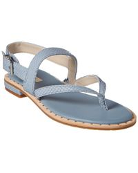 Kenneth Cole - Tama Leather Sandal - Lyst