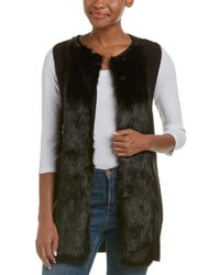Ella Moss - Faux Fur Vest - Lyst