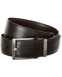 50c0d349d77 Ferragamo - Rectangular Buckle Reversible   Adjustable Leather Belt - Lyst