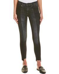 Hudson Jeans - Nico Black Sand Super Skinny Leg - Lyst