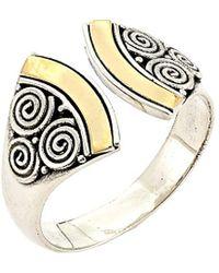 Samuel B. - 18k & Silver Ring - Lyst