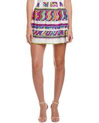 Alice & Trixie - Silk A-line Skirt - Lyst
