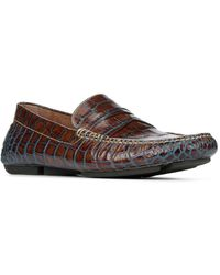 Donald J Pliner - Men's Vinco5 Leather Driving Loafer - Lyst