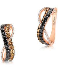 Le Vian - ? Exotics Diamond & 14k Rose Gold Infinity Earrings - Lyst