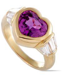 BVLGARI - Bulgari 18k 4.37 Ct. Tw. Diamond & Sapphire Ring - Lyst