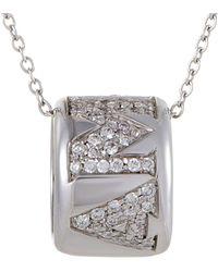 Pasquale Bruni - Amore 18k 0.51 Ct. Tw. Diamond & Sapphire Necklace - Lyst