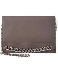 BCBGMAXAZRIA - Zarina Convertible Leather Chain Wallet - Lyst