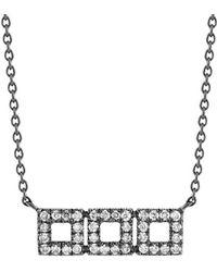 Dana Rebecca - Designs Allison Joy 14k 0.13 Ct. Tw. Diamond Necklace - Lyst