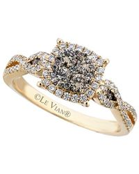 Le Vian - ® Chocolatier® 14k 0.76 Ct. Tw. White & Brown Diamond Ring - Lyst