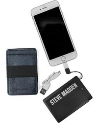 Steve Madden - Elastic Front Pocket Wallet - Lyst