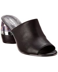 Kenneth Cole - New York Louise Leather Sandal - Lyst