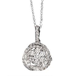 Effy - Fine Jewellery Bouquet 14kt Diamond Pendant - Lyst