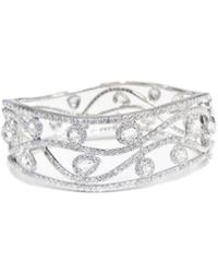 Diana M. Jewels - . Fine Jewellery 18k 8.69 Ct. Tw. Diamond Bangle - Lyst