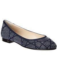 f7b73c52bef Lyst - Dior Cosmopolitan Buckle Flat Loafers