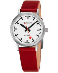 Mondaine - Women's Classic Auto Watch - Lyst
