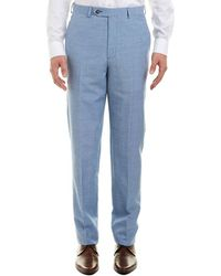 Brooks Brothers - Regent Fit Wool & Linen-blend Trouser - Lyst