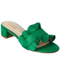 Catherine Malandrino - Ansley Block Heel Ruffle Sandal - Lyst
