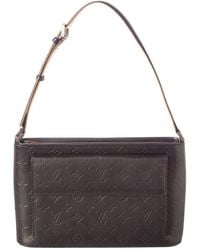Louis Vuitton - Gray Monogram Mat Leather Alston - Lyst