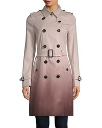 Burberry - Kensington Ombre Trench Coat - Lyst
