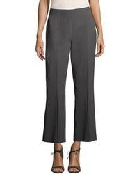 Narciso Rodriguez - Cropped Wool Pant - Lyst