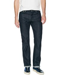 Naked & Famous - Slim Guy Straight Fit Selvedge Pant - Lyst