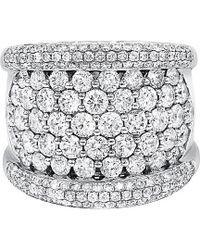 Diana M. Jewels - . Fine Jewellery 18k 3.86 Ct. Tw. Diamond Ring - Lyst