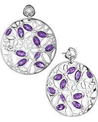 Di Modolo - Silver 15.96 Ct. Tw. Quartz Earrings - Lyst